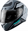 FULL FACE helmet AXXIS DRAKEN ABS cougar a2 grey matt XXL