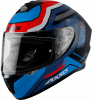 FULL FACE helmet AXXIS DRAKEN ABS cougar b7 matt blue XS