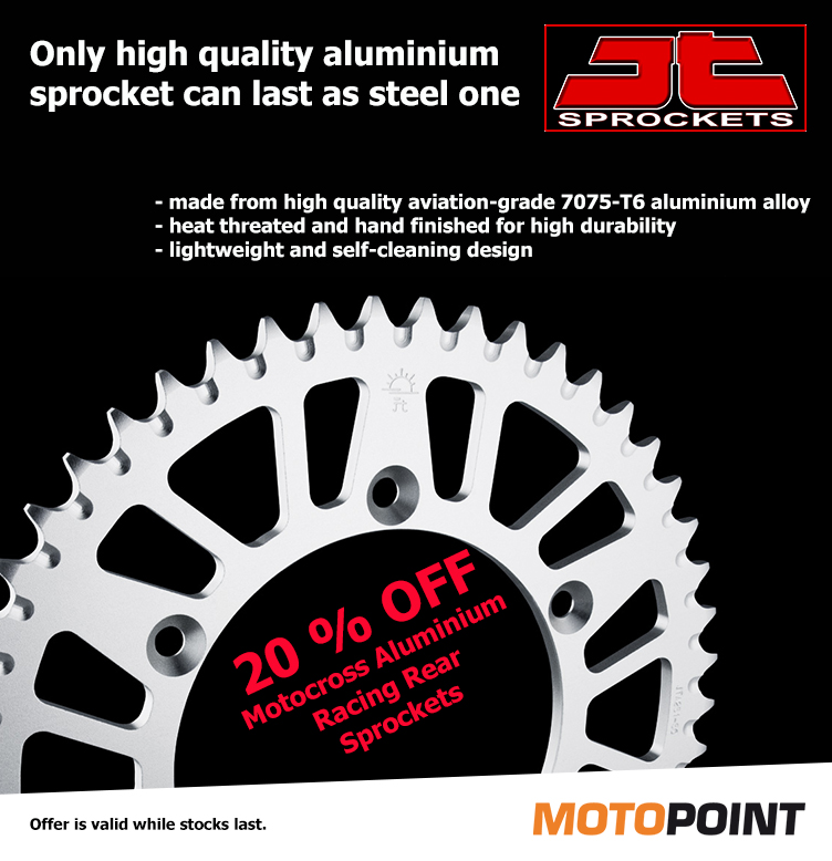 20 % OFF all Motocross Aluminium Racing Rear Sprockets JT